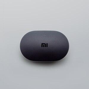 Image 5 - Originale Xiaomi Redmi Airdots TWS auricolare Bluetooth senza fili basso Stereo Bluetooth 5.0 con microfono vivavoce cuffie di controllo AI