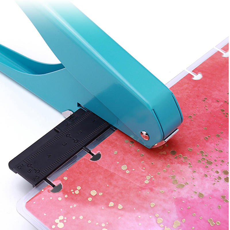 Notebook Losbladige T-Type Punchers Paddestoel Gat Handmatige Ponsmachine Scrapbook Diy Papier Cutter Office Binding Gat punch