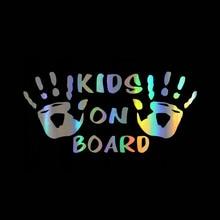 Autocollants de voiture en vinyle pour enfants, décalcomanies de voiture amusantes et Cool, style de voiture, fenêtre de voiture, panneau d'avertissement personnalisé
