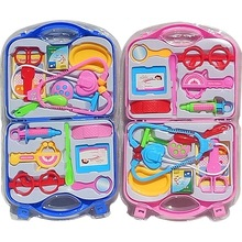 New Children Doctor Nurse Pretend Play Set Portable Suitcase Medical Tool Kids Portable Suitcase Medical Tool
