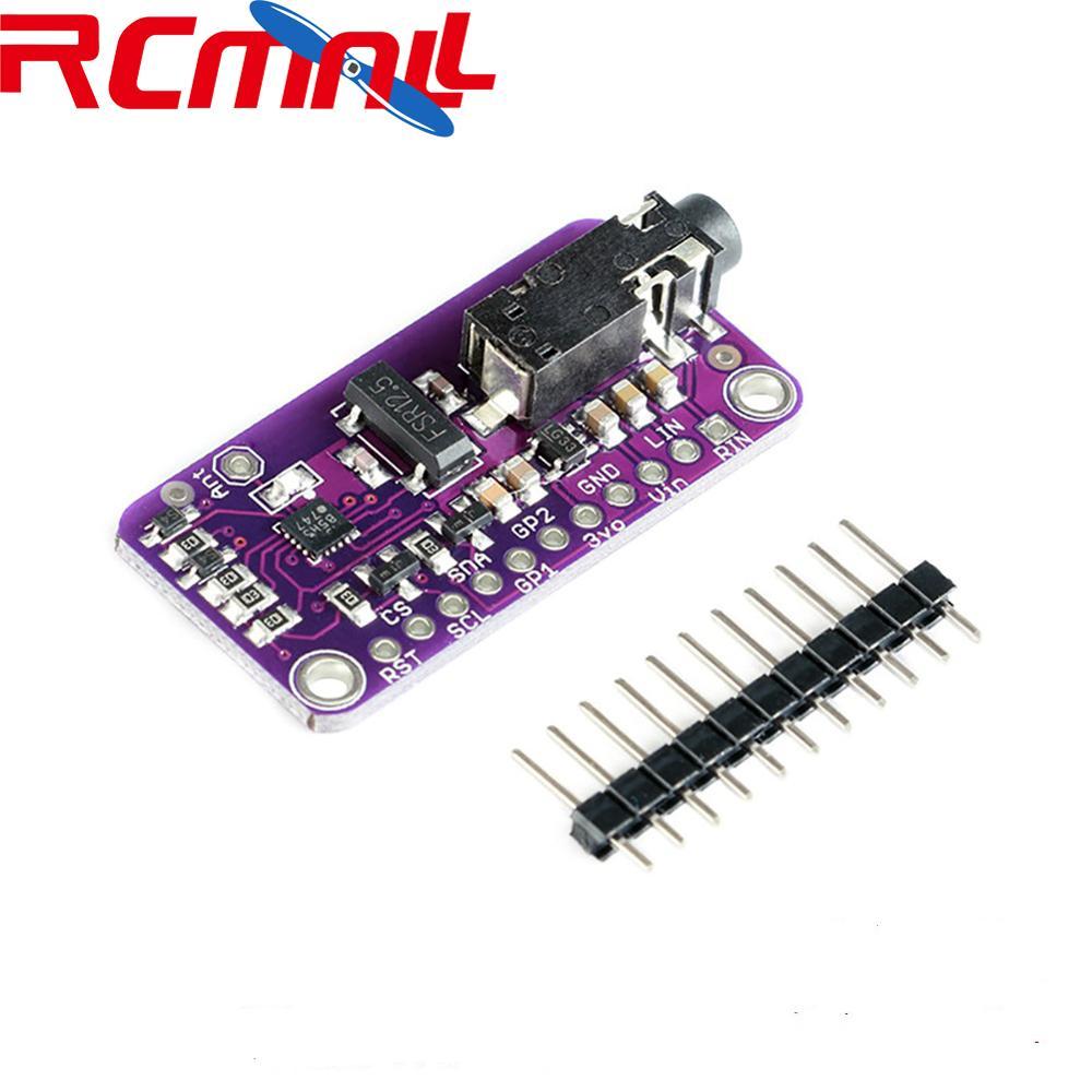 CJMCU-4713 Stereo FM Transmitter Module SI4713 Digital Wireless Radio MCU Module DC 3-5V RCmall