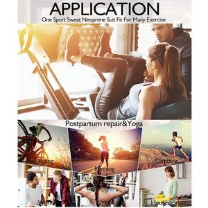 Image 5 - Prenda modeladora de cuerpo completo para mujer, traje de Sauna moldeador de cuerpo, entrenador de cintura, adelgazante, faja de neopreno, levantador de glúteos