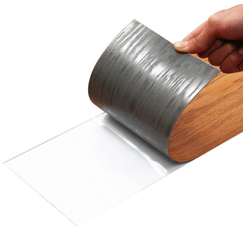 WELLYU PVC floor leather thick self-adhesive wood grain floor waterproof wear-resistant living room bedroom floor stickers