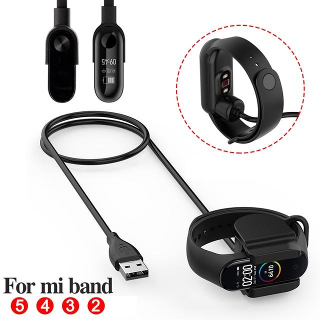 Зарядный кабель для Xiaomi Mi Band 3 4 5 Miband 5 Смарт браслет Mi band 2 зарядный кабель Band4 USB зарядное устройство адаптер провод