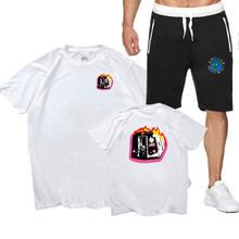 Футболка мужская белая футболка Трэвиса Скотта семейный спортивный