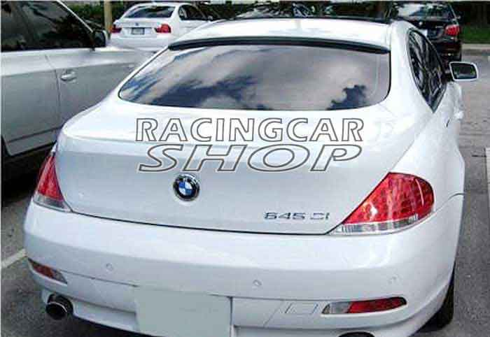 painted L-TYPE ROOF <font><b>SPOILER</b></font> fit for <font><b>BMW</b></font> <font><b>E63</b></font> 2D M6 645i 650i 2004-2008 B031F image