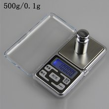 Stainless steel digital scale high precision portable mini pocket electronic scale jewelry electronic scale(China)
