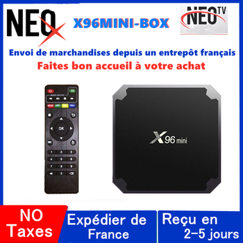 цена на Best iptv box x96 mini neo tv pro android tv box with 12Mon neox neotv code m3u iptv x96mini smart tv only no channels included