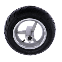 110/50 6.5 Pocket Bike Rear Tyres Wheel Tire and Rim Set Fit for 2 Stroke 47 49cc ATV Repair Parts