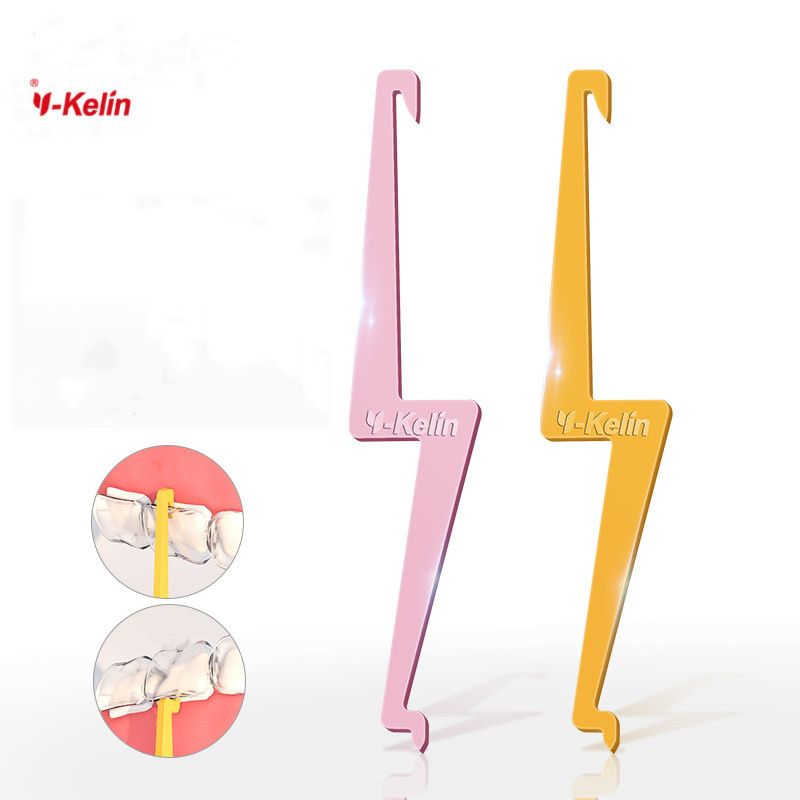 Y-Kelin 2019 New  Invisible Braces Removal Tool Retainer Removal Hook Brace Hook For Invisible Removable Braces