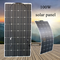 RG 16v 100W solar panel 200 watt photovoltaic Flexible Solar module