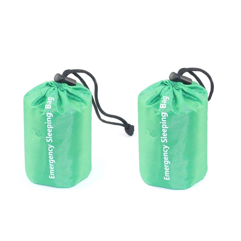 Smart Waterproof Lightweight Thermal Emergency Sleeping Bag Bivy Sack - Survival Blanket Bags Camping, Hiking, Outdoor, Activities
