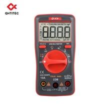 QHTITEC UM16 Digital Multimeter Volt Meter TRMS 6000 Counts Auto Ranging Measures Temperature Voltage Tester with Backlight