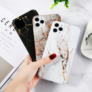 Ottwn For iPhone 11 Pro Max 6 6s 7 8 Plus Marble Stone Texture Phone Case For iPhone XR X XS Max Colorful Graffiti Hard PC Cover