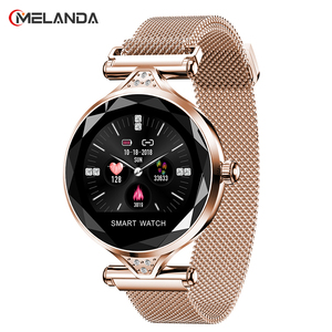 Image 1 - H1 Women Fashion Smartwatch Wearable Device Bluetooth Pedometer Heart Rate Monitor For Android/IOS Smart Bracelet