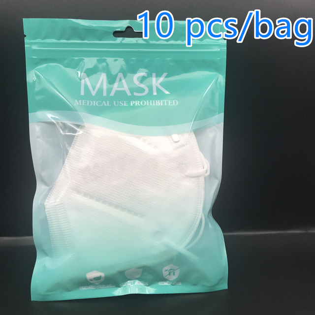 KN95 Mask mascarillas adultos Dustproof Anti-fog And Breathable Face Masks  4-layer protective mask mascherine Fast Shipping 4