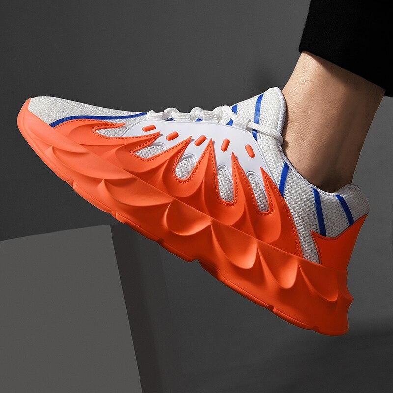 Лидер продаж 2019 года; модная прогулочная обувь для мужчин; дышащая легкая обувь для кемпинга; мужские кроссовки; летняя Уличная обувь на пло