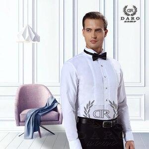 Image 1 - DARO חולצה לבן טוקסידו חולצה מסיבת חתונה חולצה 2020 חדש הולם חולצה 883