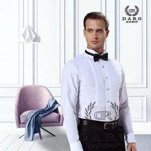 DARO gömlek beyaz smokin gömlek parti düğün gömlek 2020 yeni uydurma gömlek 883