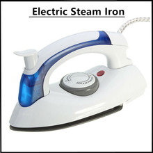 220V Foldable Handheld Electric Steam Iron Garment Steamer Travel Clothes Sprayer Electric Steam Iron Flatiron Ironing Machine 1200w electric steam iron garment steamer handheld flatiron travel iron stainless steel for home travelling 220v