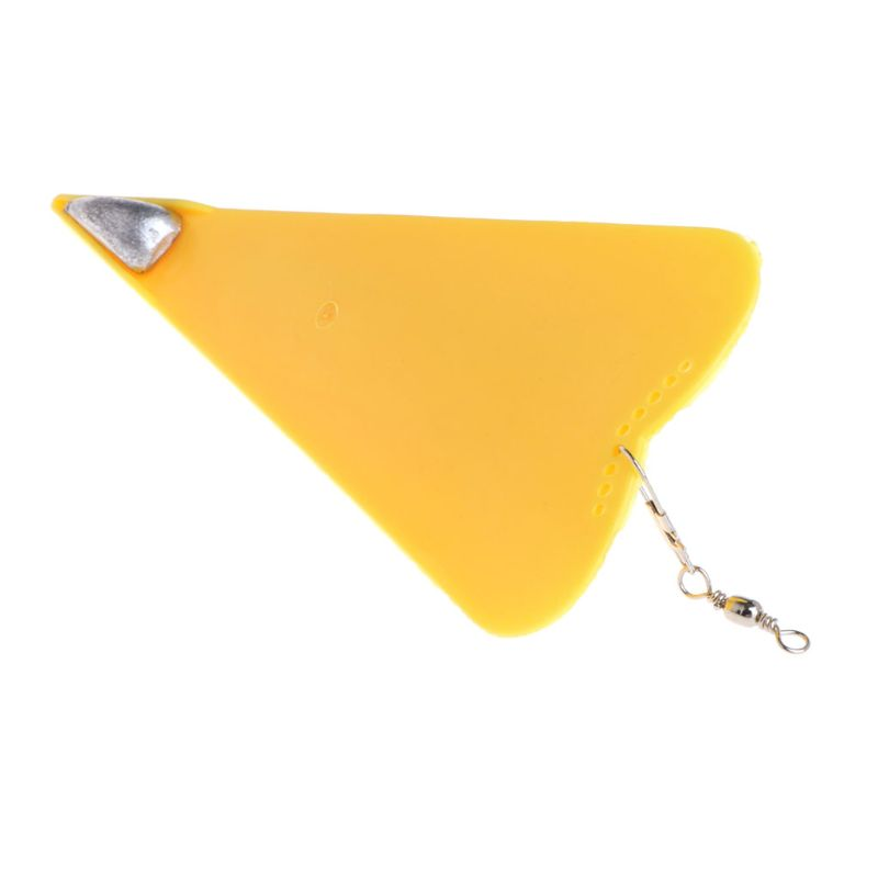 2020 New Diving Board Fishing Trolling Adjustable Deep Artificial Bait Diver Plate Swivel