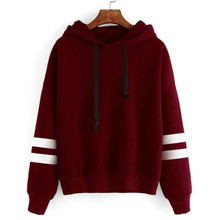 Autumn Women Hoodie Casual Long Sleeve Hooded Pullover Sweatshirts Female Jumper Tracksuits Sportswear