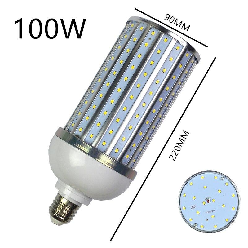 Super bright Bulb Led Corn light E27 E14 B22 E40 SMD AC220V 18W 25W 30W 40W 50W 60W 80W 100W LED bulb 360 degree Lighting Lamp