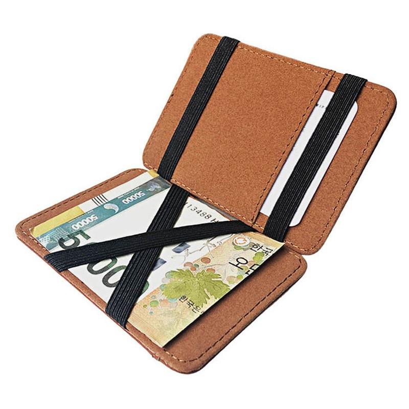 Classic High quality EMT Emergency Medical Technician  leather magic wallets Fashion men money clips card purse cash holder