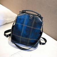 2019 new JIULIN high quality fashion one shoulder retro soft leather large capacity leisure travel bag women handbag