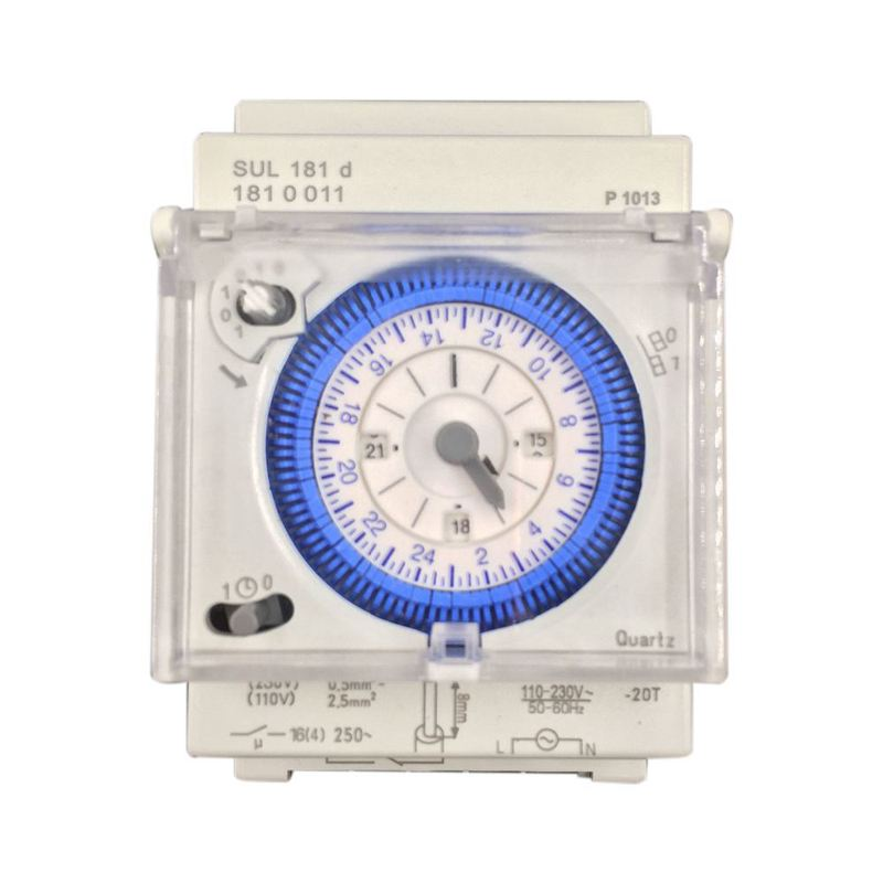 Analog Mechanical Timer Switch 110V-220V 24 hours Daily Programmable 15min Setting Time Switch Relay SUL181D Hot