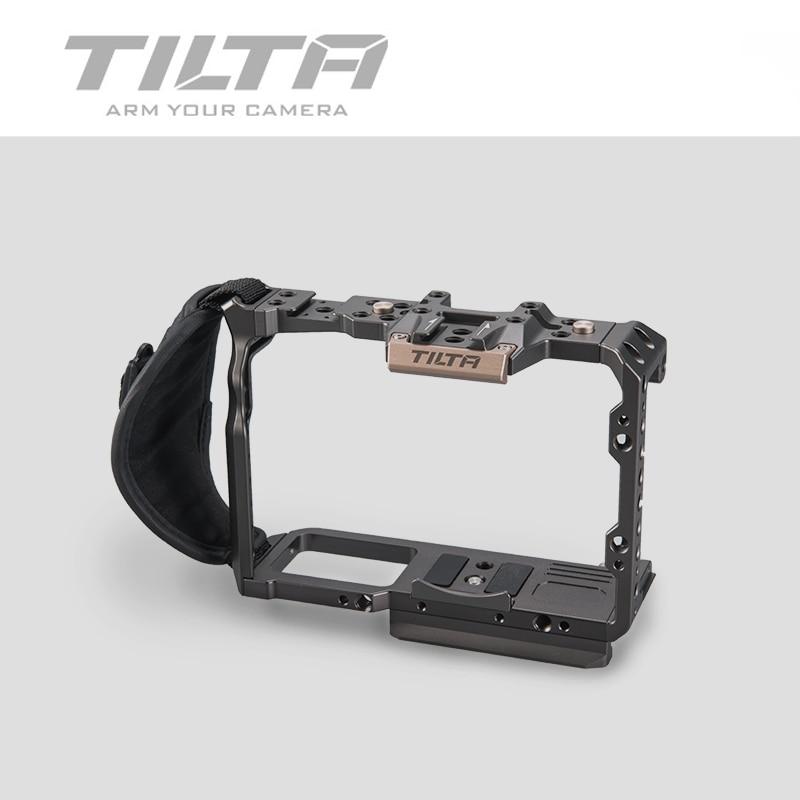 Tilta DSLR klatka dla Fujifilm XT3 X T3 i X-T2 TA-T03-FCC-G aparatu pełna klatka górny uchwyt uchwyt Fujifilm xt3 akcesoria do klatek