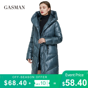 GASMAN 2020 Plus size fashion brand down parka Women's winter jacket outwear clothes women's coat Female puffer thick jacket 206 1