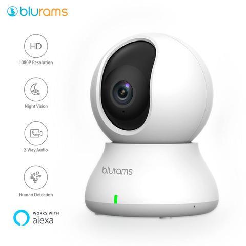 blurams dome camera de seguranca 1080p wifi ptz ip sistema de vigilancia com movimento inteligente