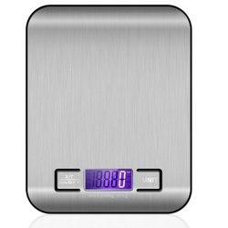 Кухонные весы электронные из нержавеющей стали весом 5 кг 10 кг бытовые кухонные весы еда мини грамм весы ювелирные изделия Саид