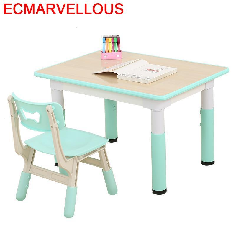 Pupitre Kindertisch Escritorio Stolik Dla Dzieci Tavolo Bambini Kindergarten Kinder For Kids Mesa Infantil Study Children Table