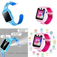 Reloj inteligente S6 para niños, buscador de localización de llamadas, localizador de SOS, cámara de juego HD, pantalla de 1,44 pulgadas