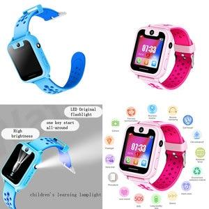Image 1 - S6 Kinder Smart Uhr Kinder SOS Anruf Location Finder Locator Tracker Kamera Spiel HD 1,44 Zoll Bildschirm Smartwatch