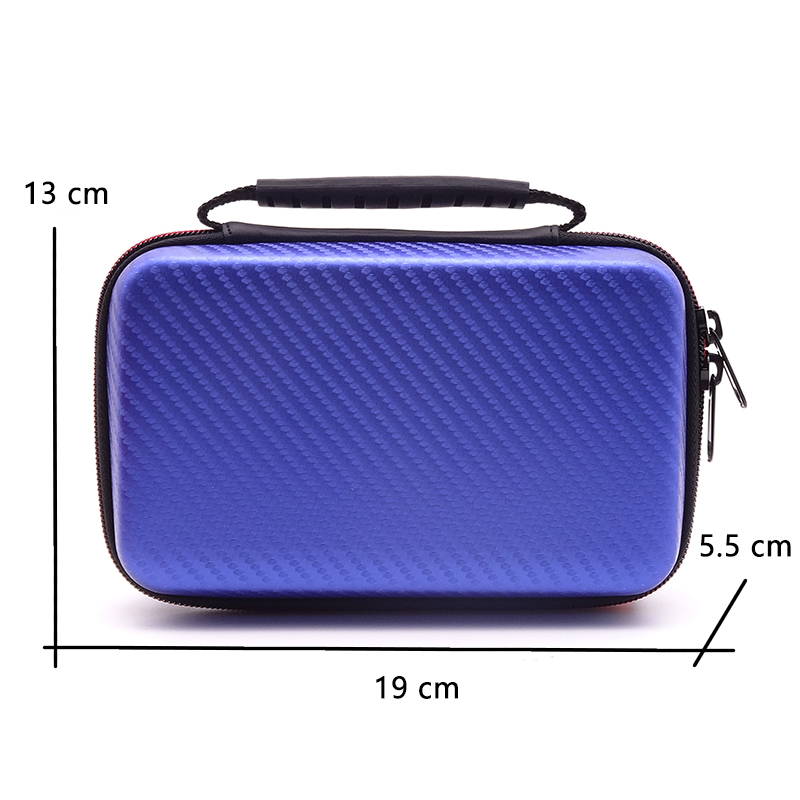 Hard Cover Carrying Storage Bags for Nintendo New 3DS XL 2DS Console Accessories Protective Shell Pouch Portable Zip Cases Box