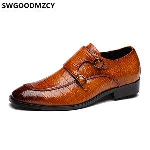 Image 5 - Çift keşiş askısı ayakkabı erkek resmi ayakkabı Oxford ayakkabı erkekler için Zapatos De Hombre Italiano Chaussure Homme Mariage Chaussure Homme