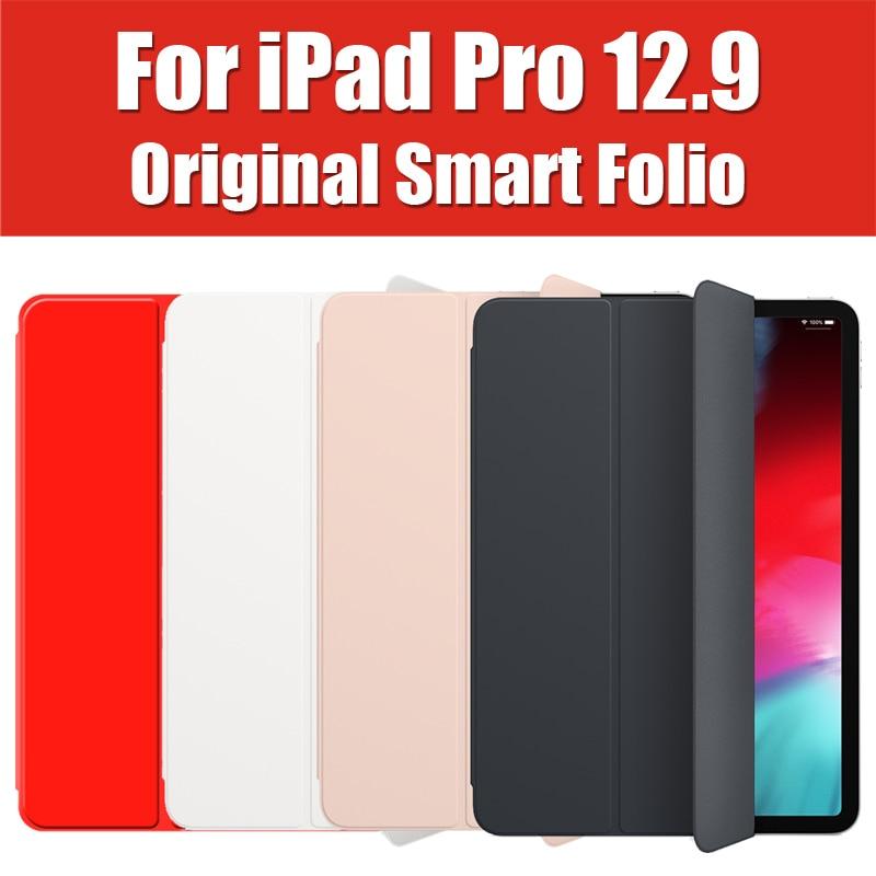 MRX72FE/ENL Originele Stijl Smart Folio For a iPad Pro 12.9 2018 Case Flip Cover Magnetische Lederen prijsverlaging