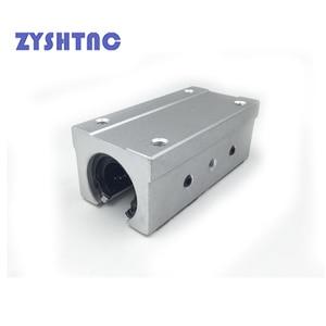 Image 2 - 4pcs/lot SBR10UU SBR12UU SBR16UU SBR20UU SBR25UU SBR12LUU linear Ball Bearing Block open type CNC Router SBR linear guide