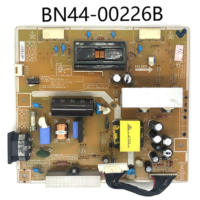 100% Original Power Supply Board T240 T26 IP 54155A BN44 00226B BN44 00226D