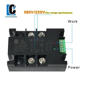 Módulo regulador de voltaje de CA monofásico, 220V, 10A-200A 1