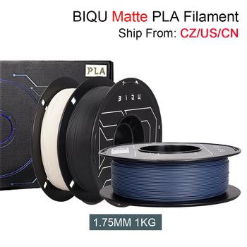BIQU PLA matowa drukarka 3D Filament PLA 1 75MM 1KG PLA Filament dla 3D długopis Creality Ender 3 V2 CR10 Anycubic Mega X drukarka 3D tanie i dobre opinie CN (pochodzenie) solid 335 metrów Matte PLA Matte PLA Filament +-0 03MM 30-60 Degree 205-225 Degree 40-80 mm s 3D Printer 3D Pen