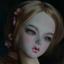 BJD 1/3 Búp Bê Lindge Ajuju Nyan Qinmu Nữ Cô Gái Isoom Nhựa Thân Mẫu Bé Gái Bé Trai Búp Bê Mắt