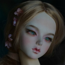 BJD 1/3 Doll Lindge  Ajuju Nyan Qinmu Female Girl isoom resin body model  baby girls boys dolls eyes