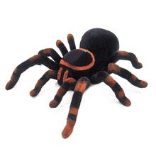 Wall Climbing Spider Remote Control Toys Infrared RC Tarantula Kid Gift Toy Simulation Furry Electronic Spider Toy For Kids Boys(China)