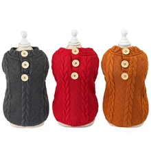 Sweater Pet-Dog-Clothes Puppy Knitwear Dogs Kitten Small Winter Soft Warm Apparel Cats