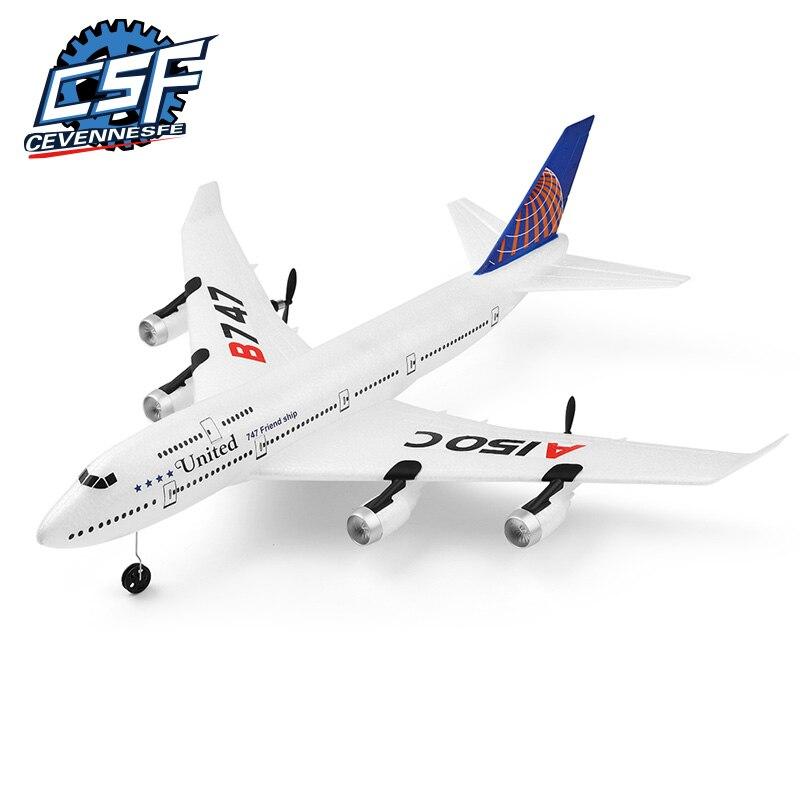 2020 nouveau drone A150-C Boeing B747 modèle RC avion 2 canaux télécommande avion jouets pour enfants enfants garçons 1