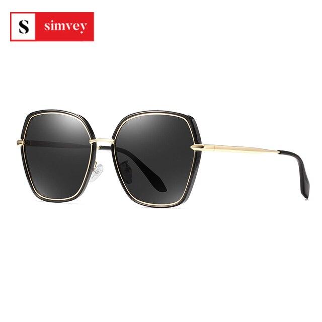 2020 Fashion Luxury Vintage Womens Sunglasses HD Polarized Lens Ladies Fashion Trending Sun Glasses UV400 Protection 1